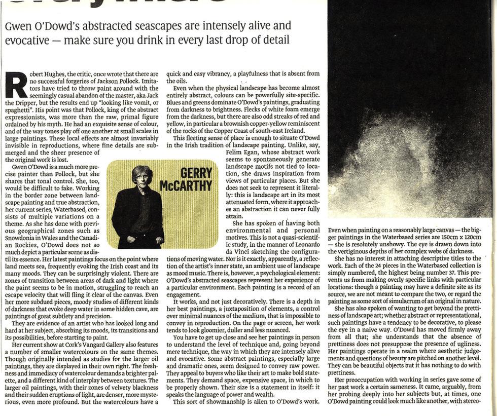 Sunday Times Vangard  2008