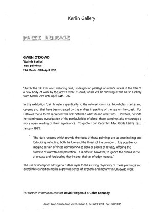 press release kerlin